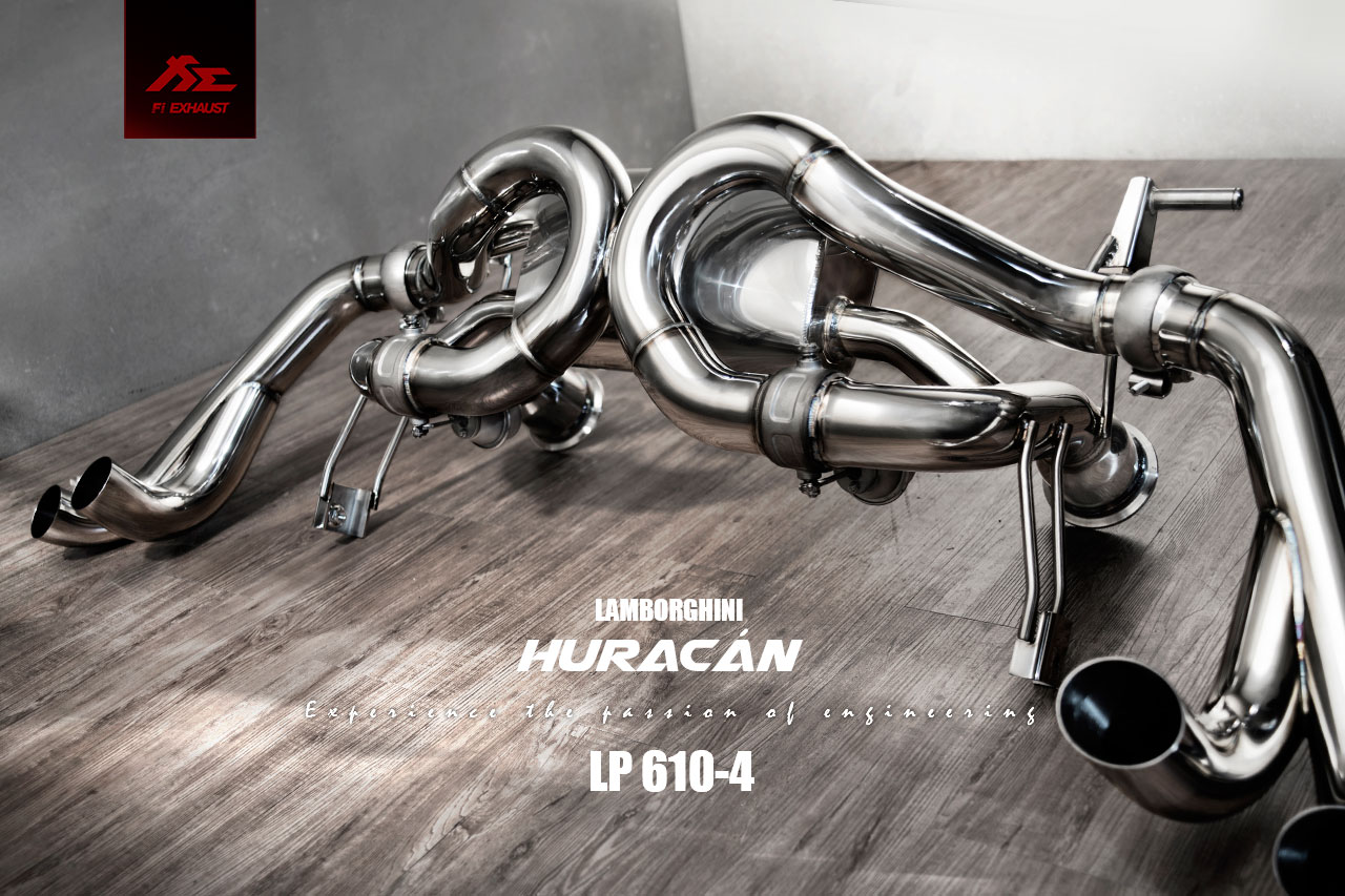 Huracan LP610-4 fi-exhaust